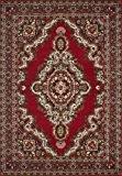 Lalee 347057146 Tapis Sahara 102, 120 x 170, Rouge