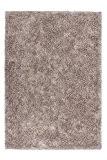Lalee 347193172 Tapis de créateur shaggy fait main Beige, Polyester, beige, 120 x 170 cm