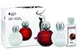 Lampe Berger 4439 Coffret Diffuseur de Parfum et Purificateur Verre (Lampe transparente + parfum « bouquet sensuel » inclus)