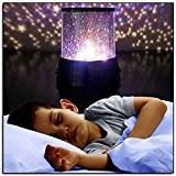 Lampe de Projection de Nuit étoilée bebe LED Veilleuse Etoile Enfant pour Chambre Chevet Table de Fille Fils Cadeau Anniversaire