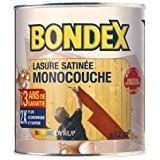 Lasure monocouche 3 ans - incolore - 0.75 L