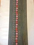 LaVelaHOME Tapis de cuisine antidérapant Impression attrape cœur effet vintage 52 x 240 cm Lavable en machine Fabriqué en Italie