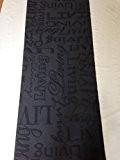 LaVelaHOME Tapis de cuisine gris 67x300cm Inscriptions «Living» en noir