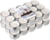 Le Chat 1190010 Lot de 2 packs de 30 bougies  chauffe-plats colorées et parfumées  MADAGASCAR - ivoire / ...