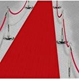 Le géant de la fête - Rouleau Tapis rouge adhésif 4.5m x 60 cm Le Geant De La Fete