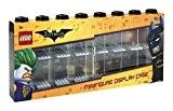 Lego Batman Figurine Vitrine pour 16mini-figurines, empilable, boîte pour mur ou bureau, noir