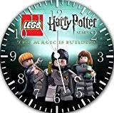 Lego Harry Potter Horloge murale 25,4cm joli cadeau et de Chambre Décoration murale 14