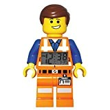 LEGO Movie Emmet - 9009945 - Réveil Mixte - Quartz Digital - Cadran LCD