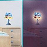 Les Trésors De Lily [N4213] - Sticker lumineux 'Lampe' bleu multicolore (Pirate)