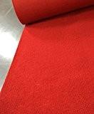 LIXIONG Mariage, Tapis rouge, À usage unique, Épaisseur, 2,5 mm, Tapis, Mariage, Scène de théâtre, Ouverture, Cérémonie, Tapis rouge, Patte ...