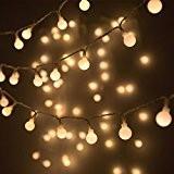 LOHAS® Guirlande Lumineuses Boules 80 LED Lumières, 9M Chaîne Eclairage Lampe Etanche versez,Décoration de Noël,Fête,Mariage,Anniversaire, Maison,Jardin,Voiture,Pâques,Terrasse,Pelouse (Blanc Chaud)