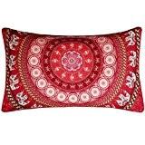 LONUPAZZ Housses de coussin Bohême Pillow Case 30cm*50cm/11.8*19.7 (E)