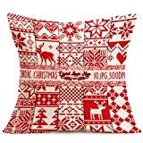 LONUPAZZ Housses de coussin Festival Throw Pillow Case coussin 43 cm * 43 cm (K)