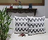 Lot de 2Housse de coussin tissé à la main en velours beige couvre-lit décoratif canapé taie d'oreiller Home