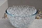 Lot de 5 sachets de perles d'eau pour la décoration de vases de mariage Transparent