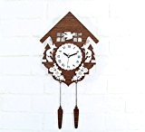 Lozse Complexe, le bois, la mode horloge murale, créatif, europe, mur, wall clock