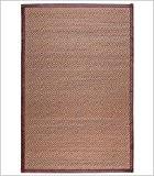 ltmb-alfombra marrón-blanco bambou 120x 180cm