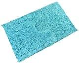 Luxe épais chenille Twist 100% coton Bleu canard Bleu turquoise souple de salle de bain Tapis de bain Ensemble