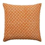 Madura Housse de Coussin BABYLONE Orange Brique 40 x 40 cm