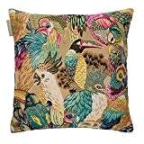 Madura Housse de Coussin JUNGLE BIRDS multicouleur 40 x 40 cm
