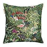 Madura Housse de Coussin TROPICAL Vert 40 x 40 cm