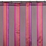 Madura Voilage à galon fronceur ANTIGUA Violet foncé 145x300 cm