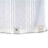 Madura Voilage brise-bise MYKONOS Blanc 60x290 cm