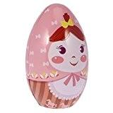 MagiDeal Boîte Surprise en Métal Forme d'Oeuf de Pâques Coffret Décoratif pour Bonbons Chocolats Bijoux Cadeau Mariage - 4