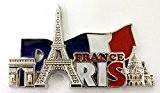 magnet aimant frigo cuisine souvenir France Paris métal cadeaux G184AR 9X5cm
