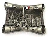 magnet aimant frigo cuisine souvenir France Paris métal cadeaux G209AN 7X5cm
