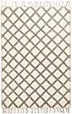 MARMOUCHA - tapis marocain Coloré: noir / blanc Dimension: 170x240 cm