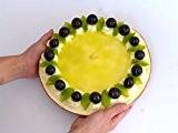 Menthe Poivrée de gâteau de raisin factice–Pâtisserie Décoration, Fake Food Idée Cadeau Inhabituelle. Imitation très réaliste