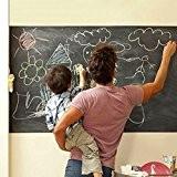 MFEIR® Effaçable Auto-adhésif Sticker Blackboard/Autocollant Tableau Noir Mural Réutilisable et Amovible