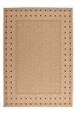 Moderne tapis design Suède - Halmstad maïs / maïs Beige / Beige 160cm x 230cm
