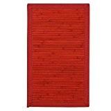 MonBeauTapis 457237 Solo Tapis Bambou Rouge 75 x 45 cm