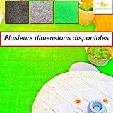 Moquette d'extérieur   dimensions et couleurs au choix   tapis artificiel idéal pour terrasse, piscine, balcon, garage ou salle de ...