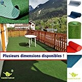 Moquette d'extérieur ou d'intérieur | dimensions et couleurs au choix | tapis type gazon artificiel - pour jardin, terrasse, balcon, ...