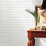 Mural de étiquette, returom Papier peint de la mousse 3d de la manière Papier peint réaliste de la paroi du ...