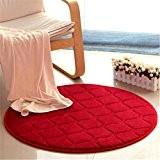 MZMZ-épais molleton corail autour du fitness tapis de salon tapis de chambre tapis chaise d'ordinateur de chevet,tapis rond 200