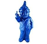 Nain de Jardin Doigt d'Honneur Ottmar Hörl Couleur Bleu