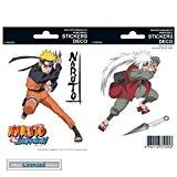 Naruto Paquet De Stickers - Naruto & Jiraiya (15 x 10 cm)