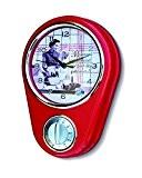 NATIVES 211089 Maman Gâteaux Horloge Minuteur Métal Multicolore 9,9 x 5 x 7 cm