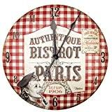 NATIVES 610460 Horloge Relief Métal Multicolore 9,9 x 5 x 7 cm