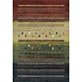 NAZAR 818110 Ethno 818 Tapis Ethnique à motif Matériel Synthétique Multicolore 170 x 120 cm