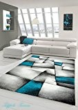 NAZAR BRI660930 Brillance 660 Tapis Matériel Synthétique Turquoise 290 x 200 cm