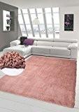 NAZAR DEL901RO Shaggy Delta 901 Tapis Matériel Synthétique Rose 150 x 80 cm