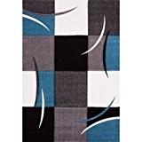 NAZAR DIA665T Daemon 665 Tapis Matériel Synthétique Bleu 290 x 200 cm