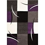 NAZAR DIA665V Daemon 665 Tapis Matériel Synthétique Violet 170 x 120 cm