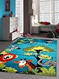 NAZAR SKY2170030 SKY 217 Tapis d'enfant Matériel Synthétique Bleu 170 x 120 cm
