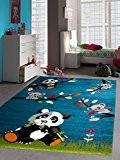 NAZAR SKY2171130 SKY 217 Tapis d'enfant Matériel Synthétique Bleu 150 x 80 cm